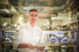 Anthony Bourguignon,Chef de la Caravelle, meilleur restaurant Porto-Vecchio