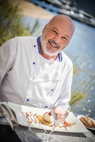 Luciano Santa Maria, Chef de cuisine du gastronomique du Don César