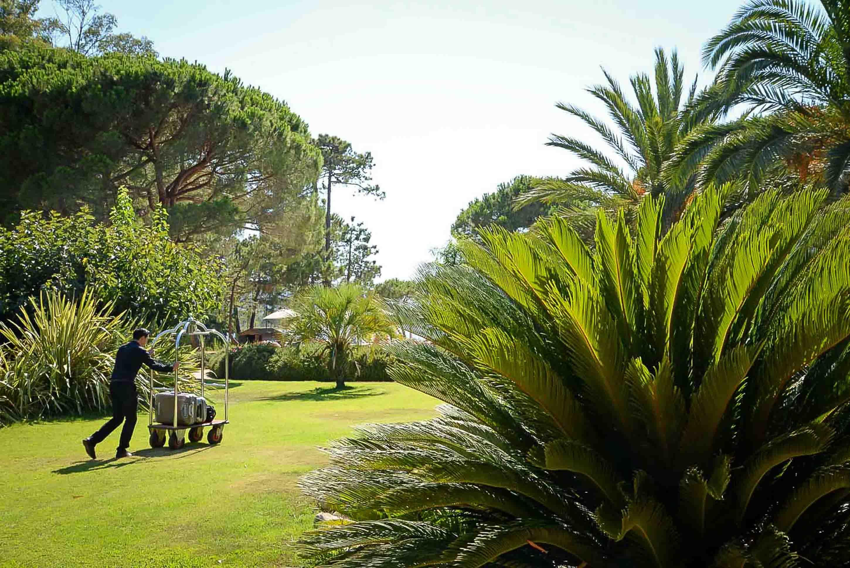 Espaces verts Hôtel Belvédère