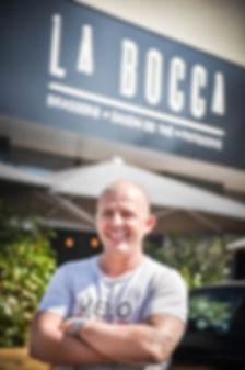 Hervé Tognarini, gérant de la brasserie La Bocca