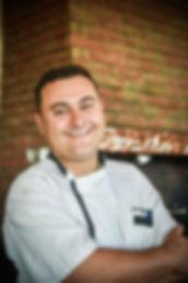 Denis Mandin, pizzaïolo du Costa Marina