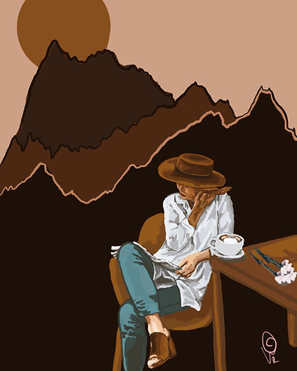 Awakenings Poem Illustration