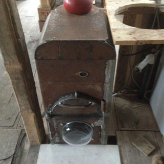 Rocket stove, perfect for making a brew
