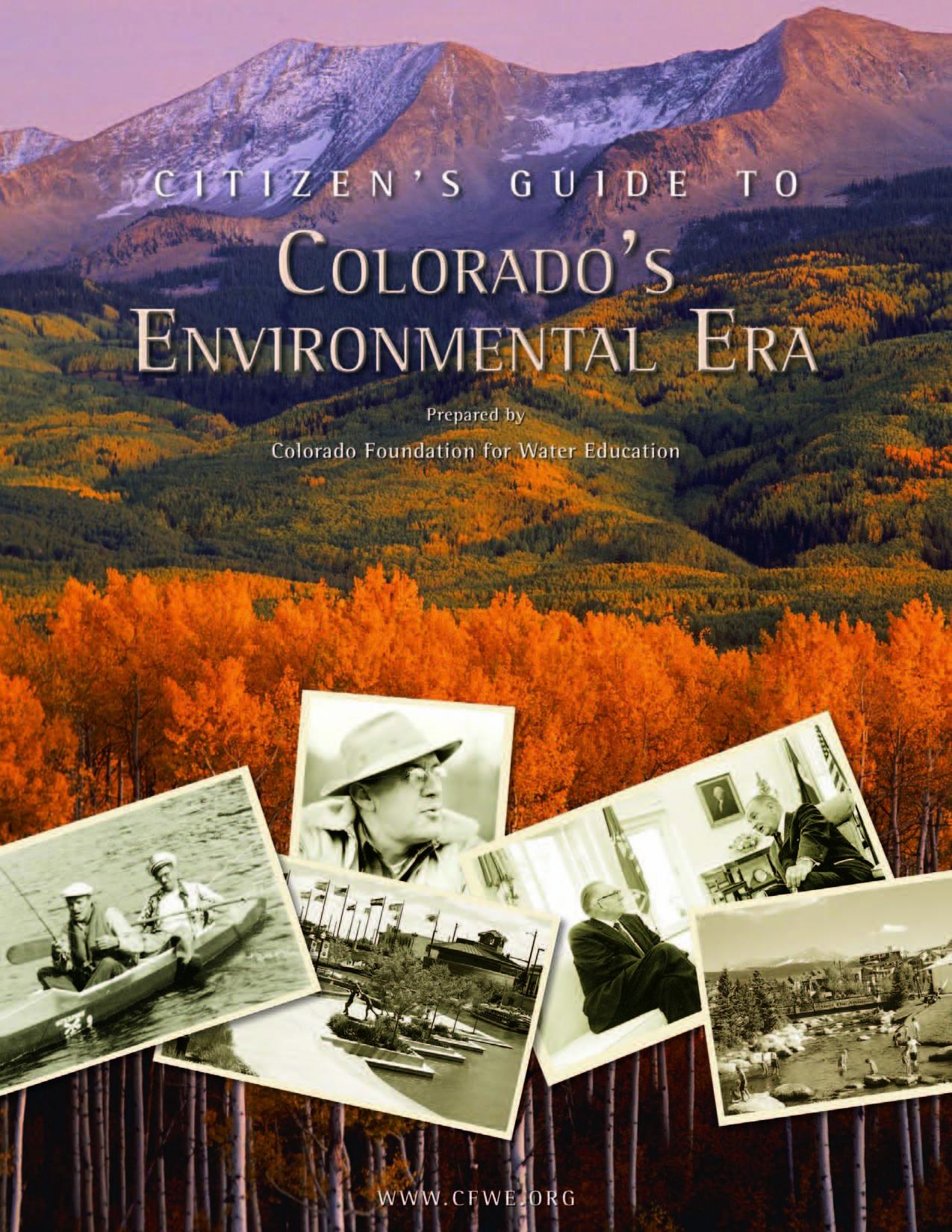 Citizen's Guide to Colorado's Environmental Era