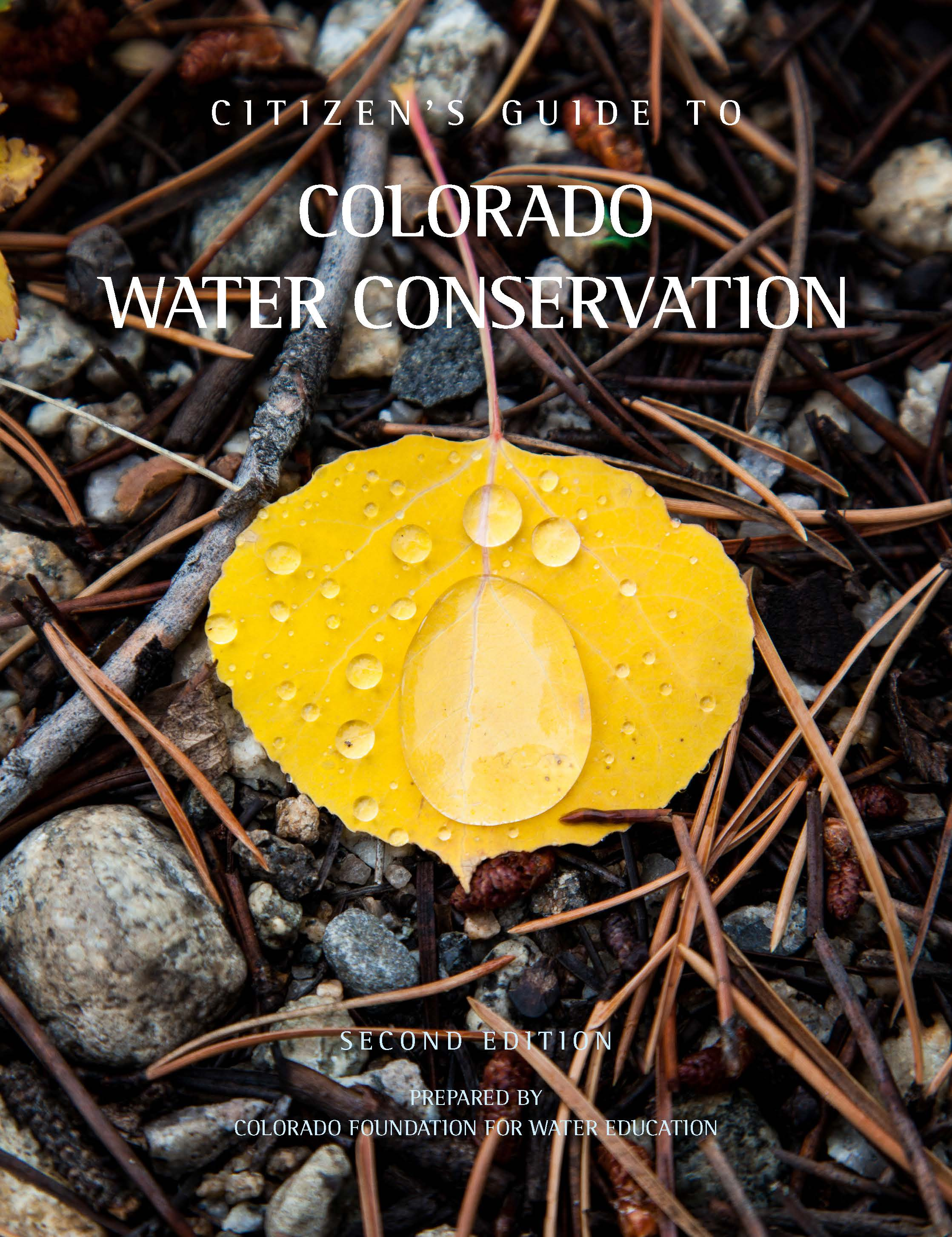 Citizen's Guide to Colorado Water Conservation