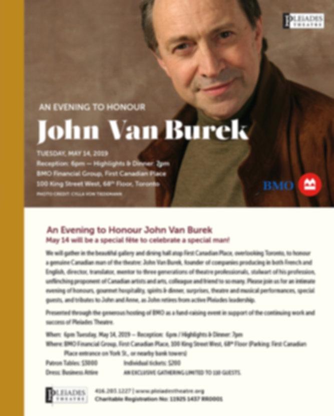 John-Van-Burek - May 14, 2019 Pleiades Theatre Fundraiser