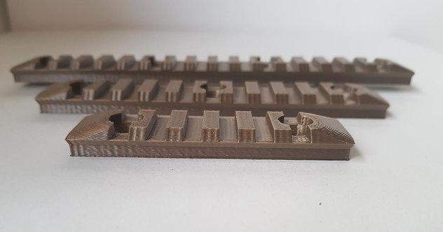 416 Picatinny Rail Pack Black or Tan