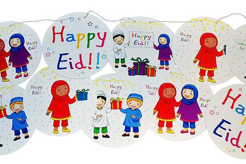 Eid DIY Banner Kit (Children Celebrate Eid Design)