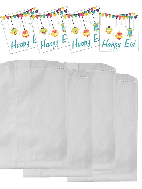 Eid Lanterns Party Treat Bags (12 pack)
