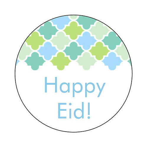 Eid Holiday Stickers 12 Pack (Tiles Design)