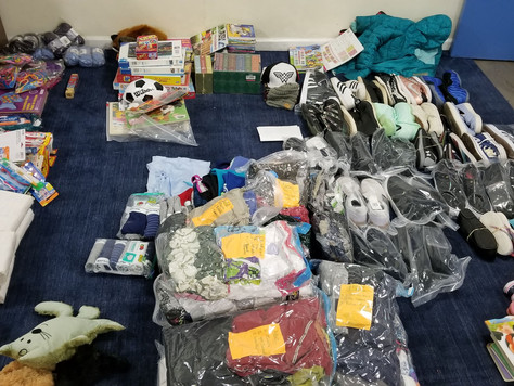 Post #6 - 12 Suitcases of Donations Tallied Up!