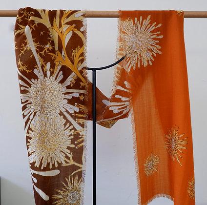Isopogon rust 1 Wool scarf