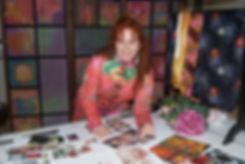 Lynn Elzinga-Henry in her Adelaide Hills garden studio