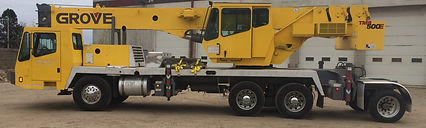 Mn Crane Service Rogers Mn Operated 40 Ton Mobile Truck