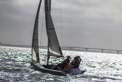 Sailing in Sarasota Bay