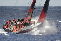 sailboat in Around the World race