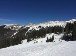 Ski Area mountain view