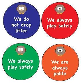 playground signs