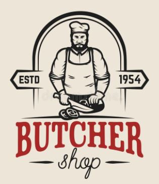 Butchers signs