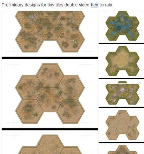 Hex tile system