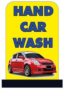 car wash signs
