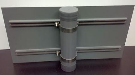 Grey 78mm round posts