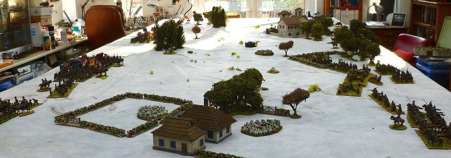 snow wargaming mats