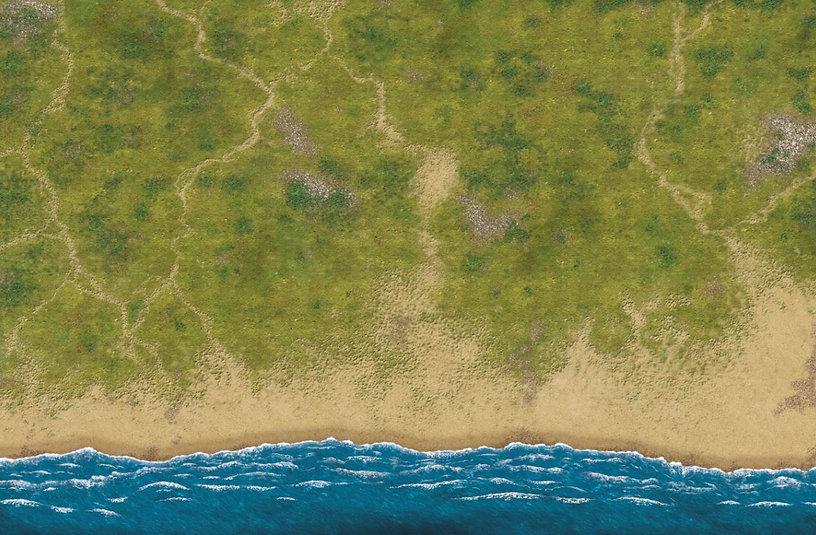 South pacific mat detail