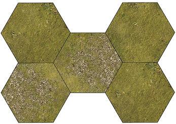 cnc grass hex