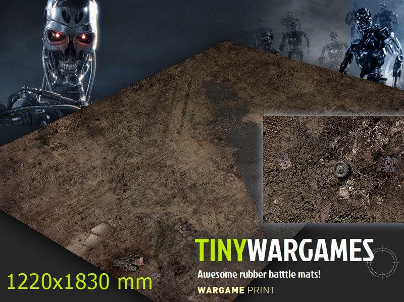 terminator gaming mats