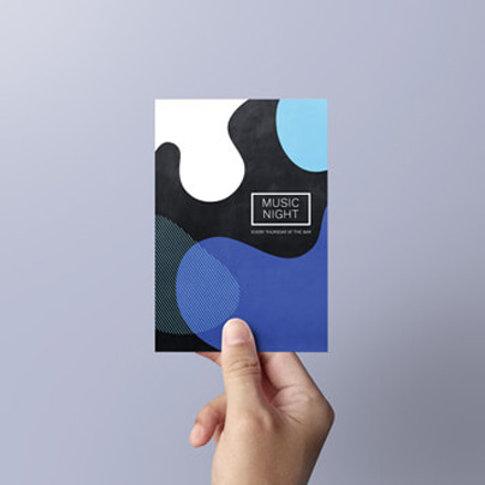 100 A6 leaflets Single Sided