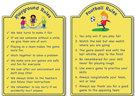 rules signs