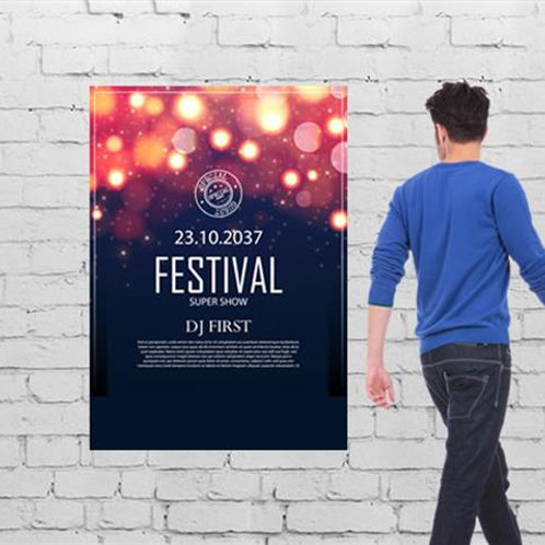 A0 poster full colour 841x1189mm