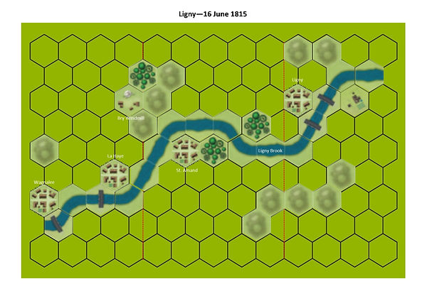 Ligny Basic Map