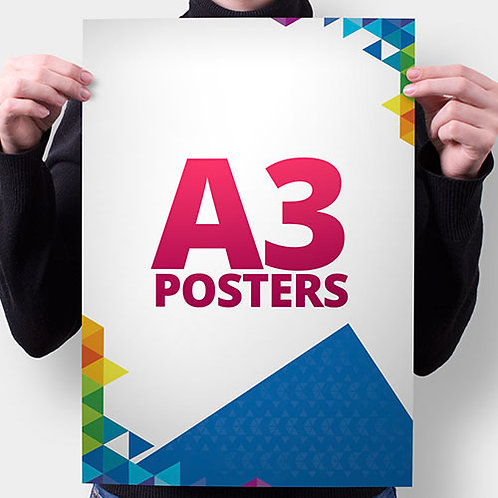 A3 poster full colour