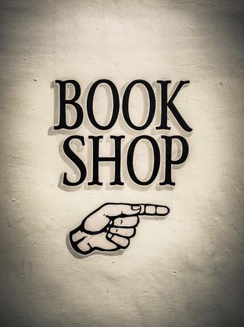 Book shop sign