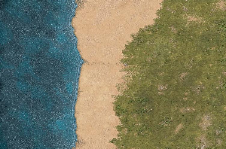 Big coastal mat detail