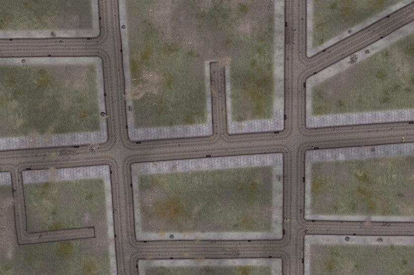 Grass wargame mats