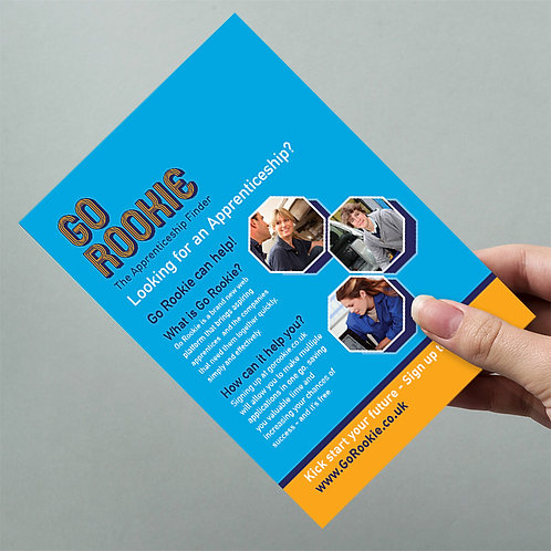 A5 Leaflets 1000 full colour