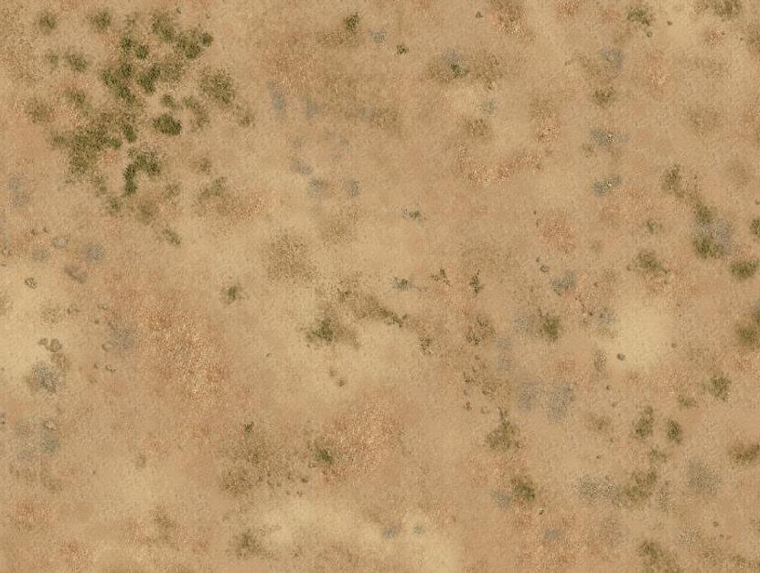 desert mat detail