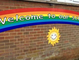 Brighten up the playground