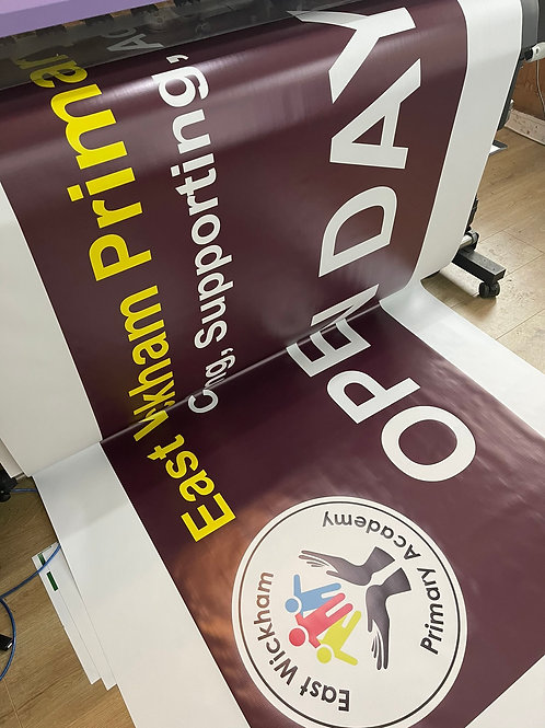 3m x 1 m PVC banner