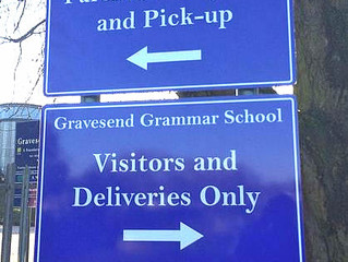 New signs for Gravesend Grammar School