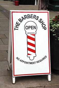 barber shop signs