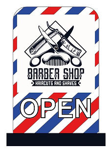 bARBER SIGNS
