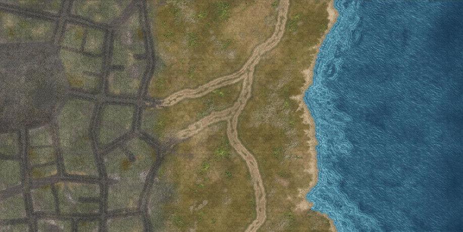 Coastal end mat detail