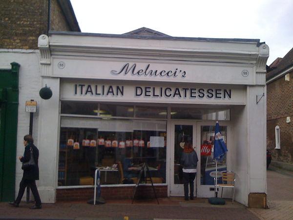italian restaurant signs