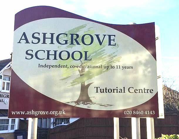 New school signs