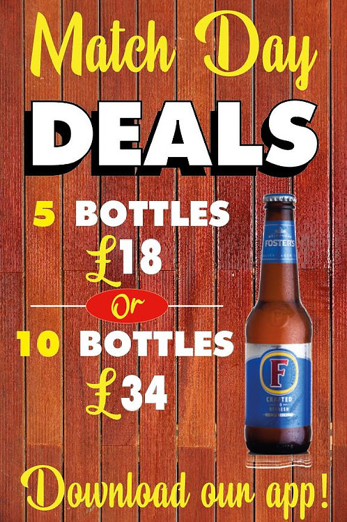 Pub Beer Garden sign metal £89