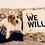 Thumbnail: 'We Will' Tote Bag